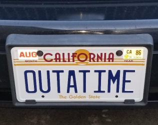Back to the Future License...