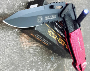 Firefighter Pocket Knife