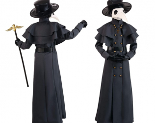 Kids Plague Doctor Costume