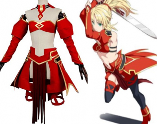Saber Mordred Fate Cosplay...