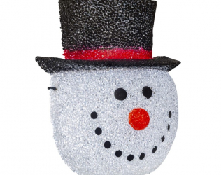 Snowman Light Cover