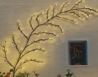Solar Artificial Vine Lights