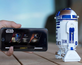Star Wars App-Enabled Droid