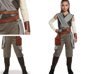 Star Wars Kids Rey Costume