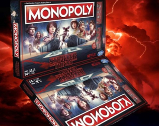 Stranger Things Monopoly E...