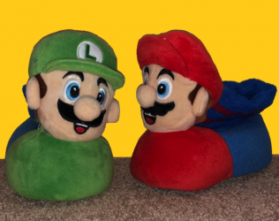 Super Mario And Luigi Slip...