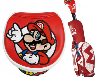 Super Mario Golf Head Covers