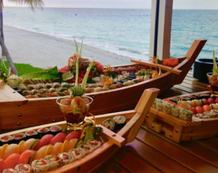 Sushi Boat Serving Tray