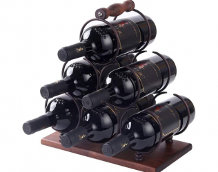 Tabletop Wine Bottle Holder