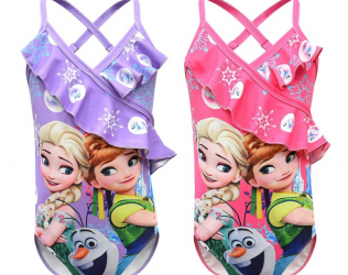 Toddler Girls Frozen Swimsuit