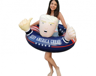 Trump Pool Float