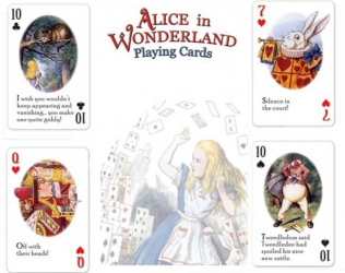 Wonderland Playing Cards