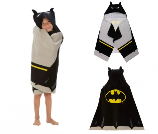 Batman Hooded Beach Towel