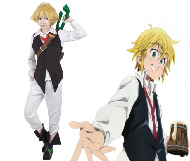Seven Deadly Sins Meliodas Cosplay Costume